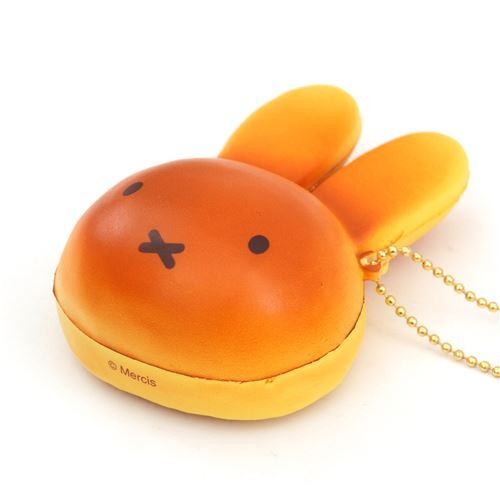 Squishy Bunny Slime Instagram : cute brown Miffy bunny rabbit bread bun squishy for bag backpack - Character Squishy - Squishies ...
