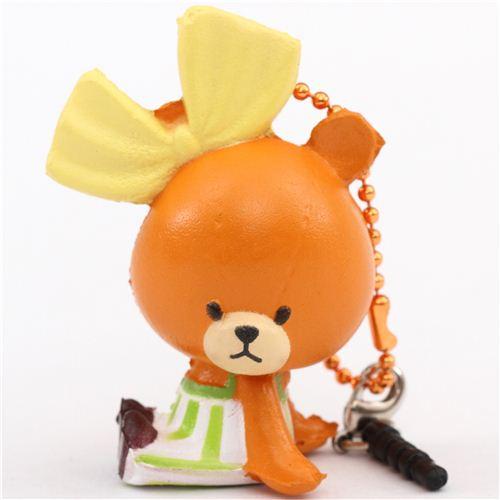 cute brown Tiny Twin Bears squishy charm kawaii - Character Squishy - Squishies - Kawaii Shop ...