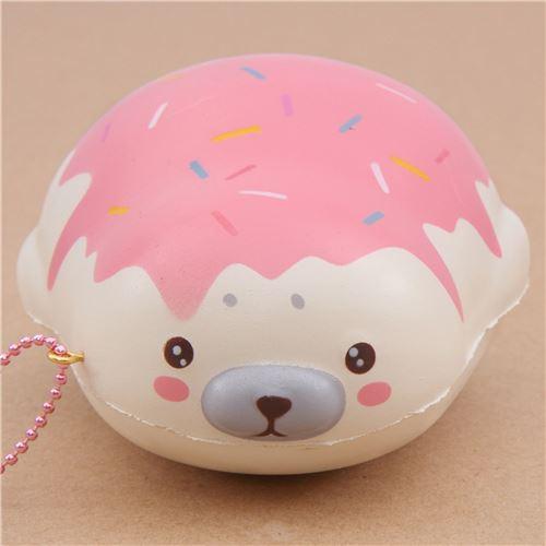 Squishy Bunny Slime Instagram : cute cream strawberry sauce mochi seal animal scented squishy by Puni Maru - Puni Maru Squishies ...