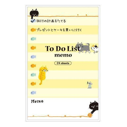 cute funny cat fish note pad to do list marker from japan 1