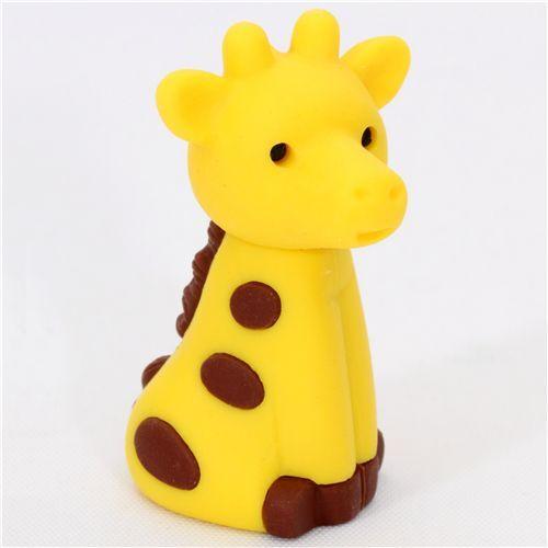 Cute Giraffe Japanese Eraser From Iwako Animal Eraser