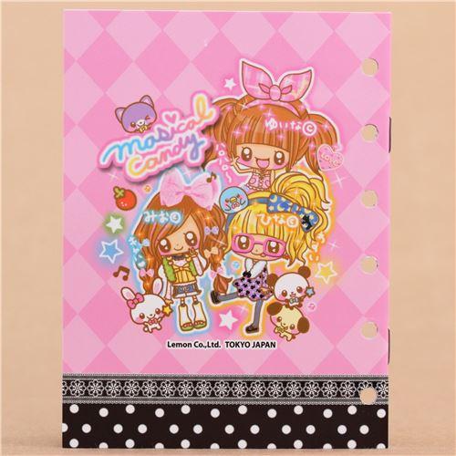 cute girl small animal sticker album book sticker books stickers