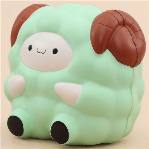 cute green Jumbo Pop Pop Sheep Pat Pat Zoo squishy kawaii - Animal Squishy - Squishies - Kawaii ...