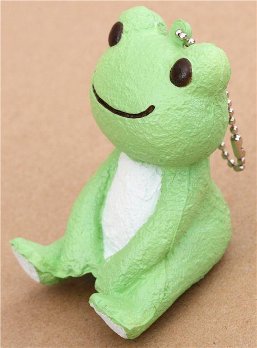 cute green Pickles the frog squishy charm kawaii - modeS4u