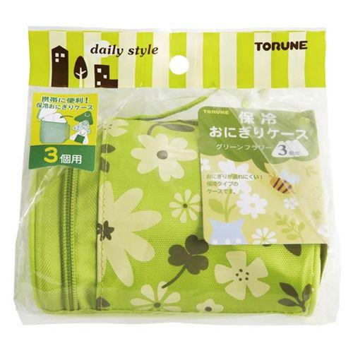 cute green flower onigiri bento box lunch bag lunch bags bags accessories kawaii shop. Black Bedroom Furniture Sets. Home Design Ideas