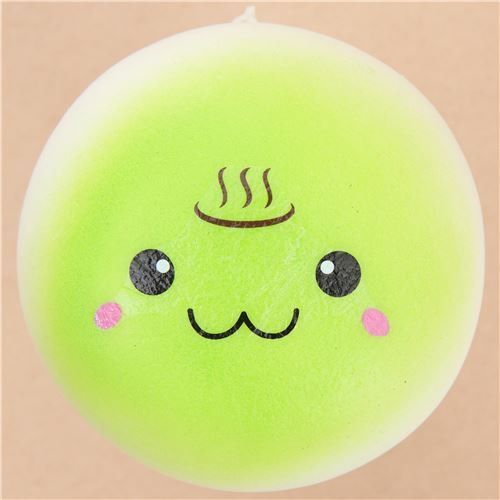 cute green steam bun food squishy kawaii - Food Squishy - Squishies - Kawaii Shop modeS4u