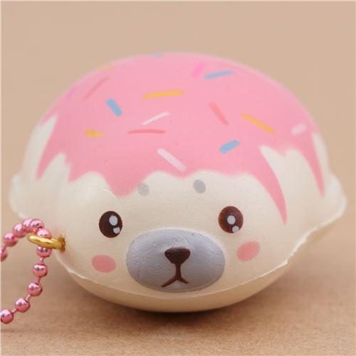 Adams Squishy Animals : cute magnetic mini pink sauce mochi seal animal scented squishy by Puni Maru - Puni Maru Squishy ...