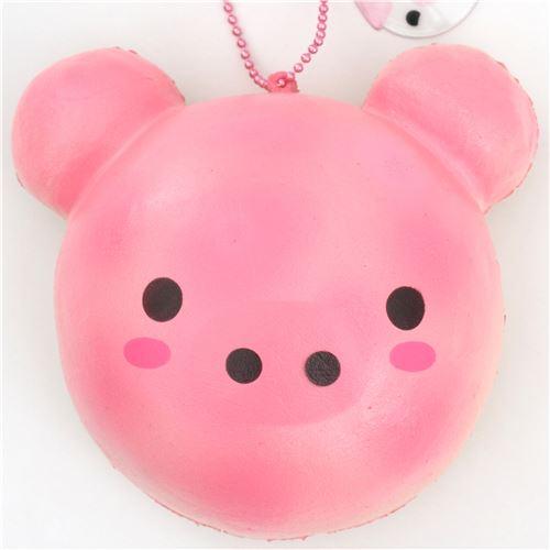 cute pig bread bun scented squishy by Puni Maru - Puni Maru Squishy - Squishies - Kawaii Shop ...