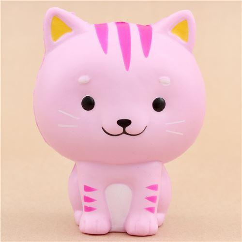 Squishy Little Animals : cute pink Chawa Little Mafia Lucky Cat kitty squishy kawaii - Animal Squishy - Squishies ...