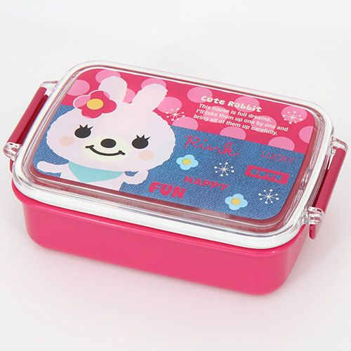 cute pink rabbit bento box lunch box kawaii bentos bento boxes kawaii shop modes4u. Black Bedroom Furniture Sets. Home Design Ideas