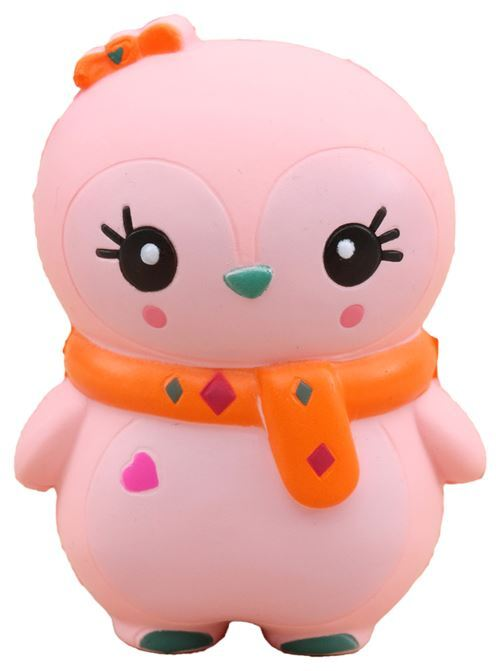 Cute Pink Baby Winter Penguin Scented Squishy Kawaii Ksi