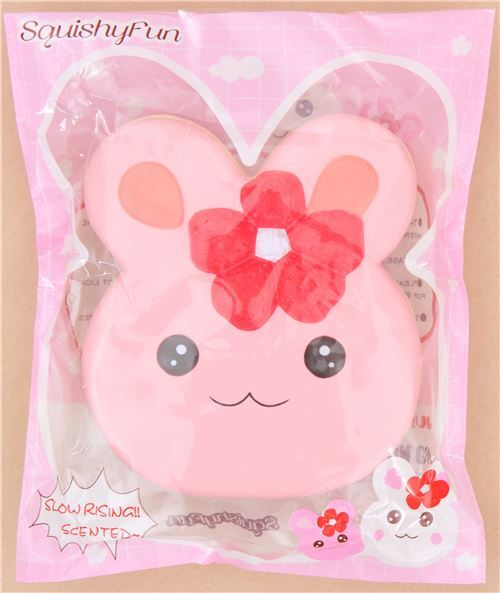Kawaii Squishy Bunny : cute pink rabbit cake squishy kawaii Squishy Fun - Jumbo Squishy - Squishies - Kawaii Shop modeS4u