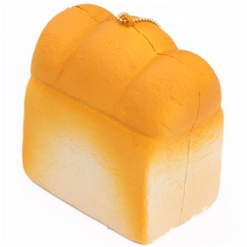 Squishy Bread Loaf : cute plain bread loaf squishy charm kawaii Cafe de N - Food Squishies - Squishies - Kawaii Shop ...