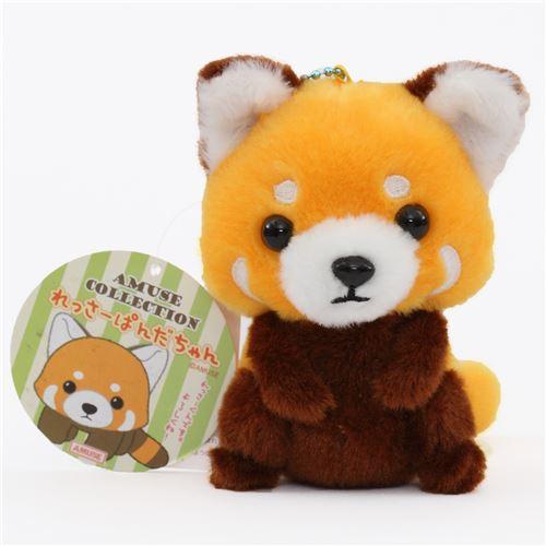 Cute Red Panda Plush Toy From Japan Modes4u Kawaii Shop