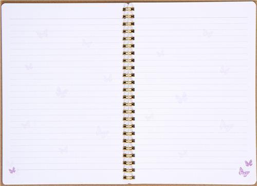 Libreta De Hojas Blancas De Dibujo Jpg By Gianferdinand: Cute Ring Binder Notebook With Perfume Bottle & Flowers