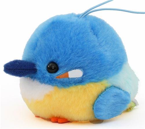 Cute Small Blue Yellow Bird Plush Toy From Japan Bird