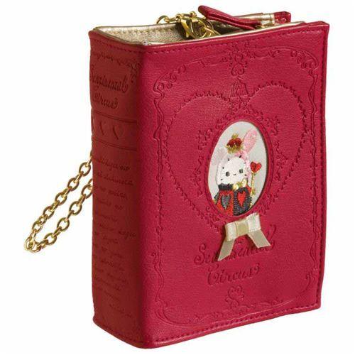 1d0871e8ccd cute small red Sentimental Circus handbag by San-X from Japan - modeS4u