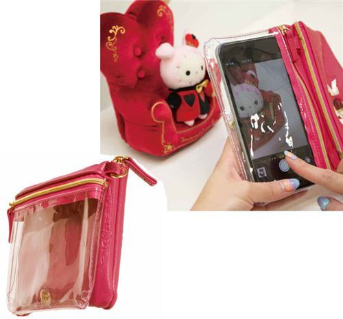 38141c59c99 cute small red Sentimental Circus phone pouch handbag by San-X from Japan 2