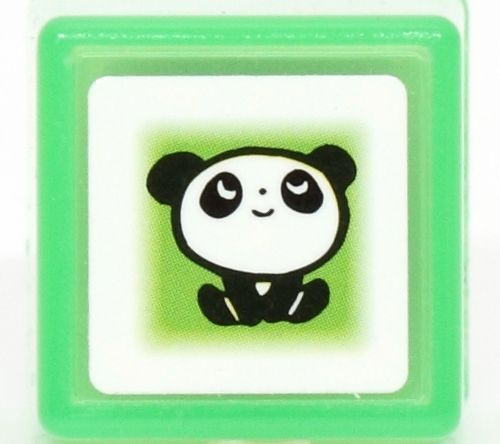 letter a mugs small stamp panda kawaii stamps stationery 6036