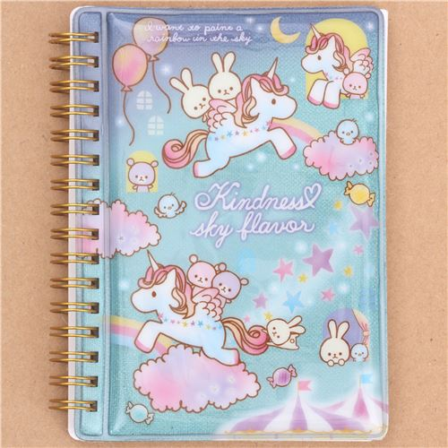 Diy Unicorn Book Cover : Cute turquoise unicorn balloon rabbit shimmery small ring