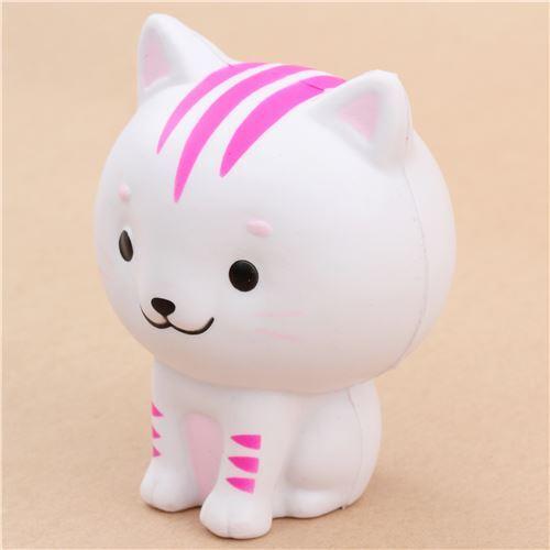Squishy Little Animals : cute white Chawa Little Mafia Lucky Cat kitty squishy kawaii - Animal Squishy - Squishies ...