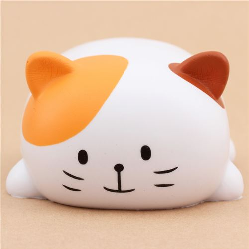 White Squishy Face Cat : Oriker white cat with brown and orange ears squishy kawaii scented - Animal Squishy - Squishies ...