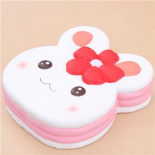 cute white rabbit cake squishy kawaii Squishy Fun - Jumbo Squishy - Squishies - Kawaii Shop modeS4u