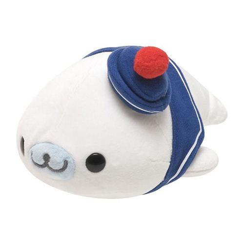 Cute White Sailor Mamegoma Seal San X Plush Toy Other