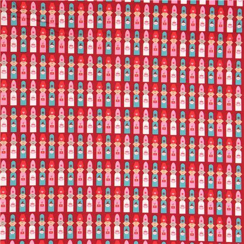 Tela Rojo Oscuro Persona Reyes Magos Rosa Blanco Azul Copenhagen