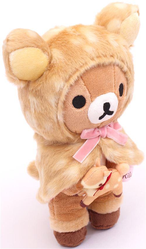 Deer Rilakkuma Brown Bear Plush Toy By San X Plush Toys