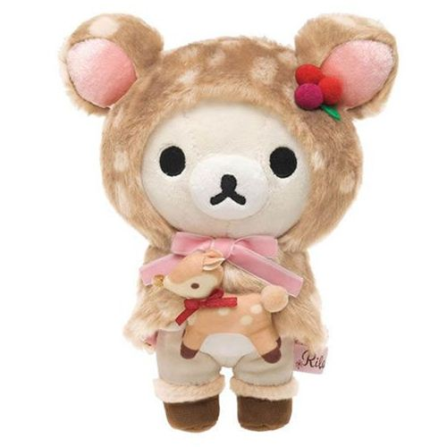 Deer Rilakkuma White Bear Plush Toy By San X Stuffed