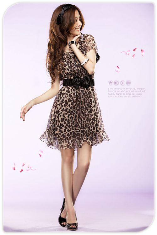 Leo Chiffon Kawaii Dress Yoco Japan Dresses Tops