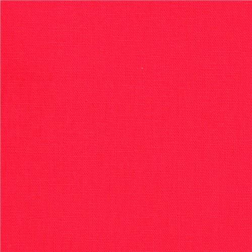 Echino Laminate Canvas Fabric In Solid Pink Coral Modes4u