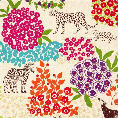 echino laminat stoff bond beige zebra leopard laminat stoffe stoffe kawaii shop modes4u. Black Bedroom Furniture Sets. Home Design Ideas