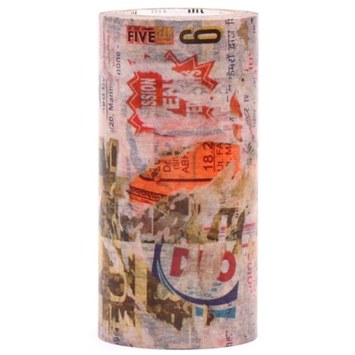 Extra Wide Mt Casa Washi Tape 10cm Poster Art Deco Tape