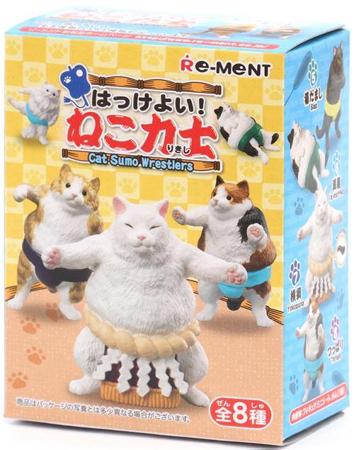 Funny Cat Sumo Wrestlers Miniature Blind Box Modes4u