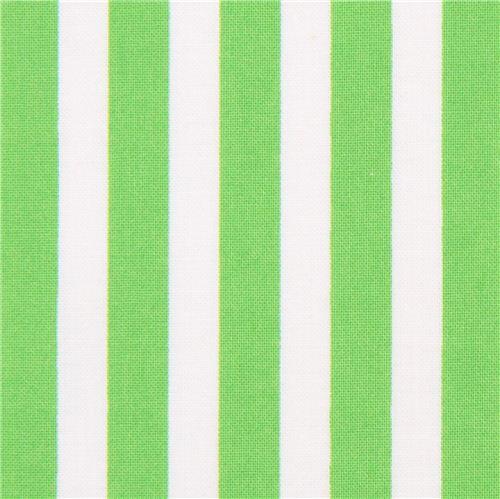 Green White Striped Timeless Treasures Tribeca Fabric Usa