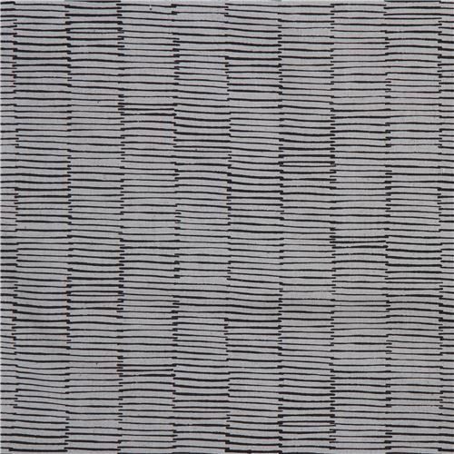 greyblue with black line canvas fabric andover usa maker maker 3