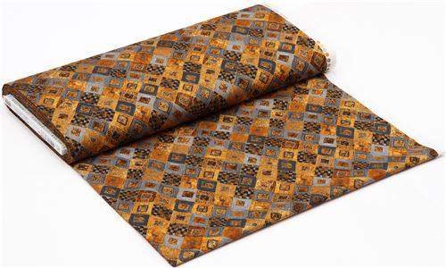 carreaux de 54 x 45 cm Coupon tissu Robert Kaufman losanges