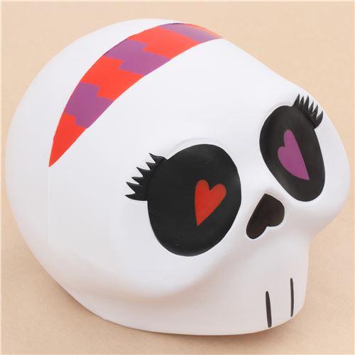 Squishy Eyes : ToyBoxShop jumbo white skull red purple eye scented squishy Halloween - Jumbo Squishy ...