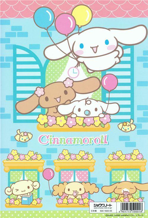 Kawaii Cinnamoroll Coloring Book Sanrio Japan Memo Pads