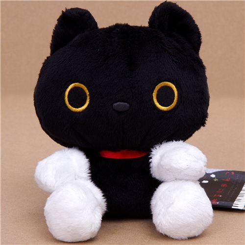 Black Cat Sock Plushie