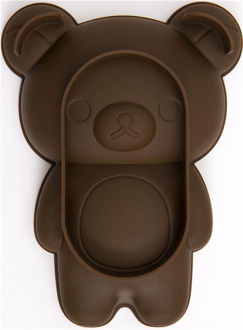 Kawaii Rilakkuma Bear Silicone Cake Mold Pan Bento