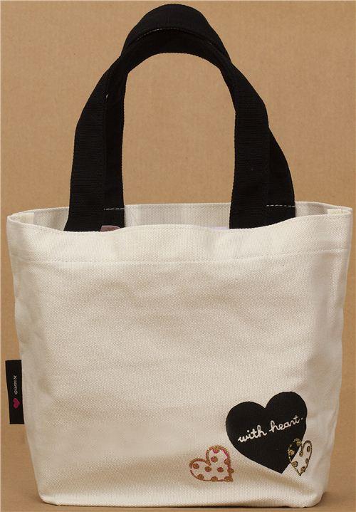 Bolso de mano kawaii de lona con rilakkuma corazones etc for Disenos de bolsos de tela