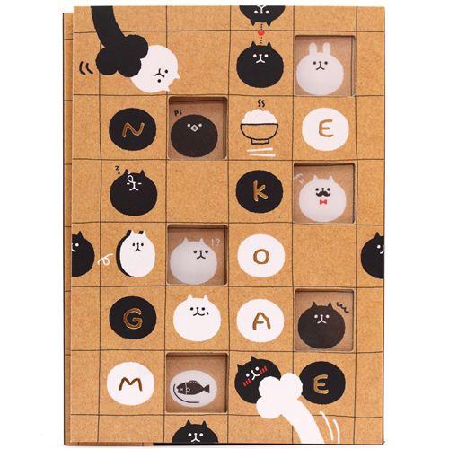 Libreta Kawaii Animal Gato Juego Kawaii Bloc De Notas De Q Lia