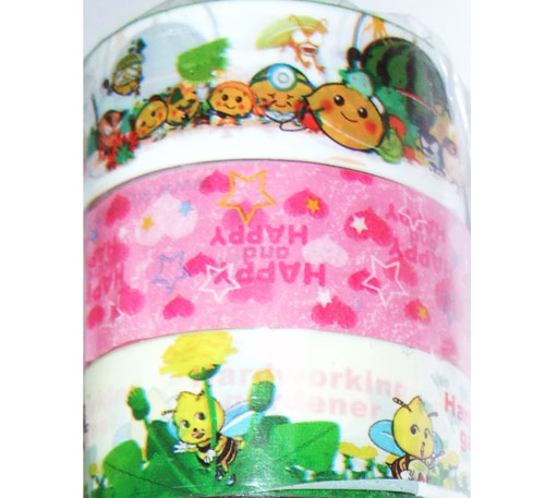 Kawaii deco tape 10pcs set 5 set di nastri decorativi nastri adesivi decorativi - Nastri decorativi natalizi ...