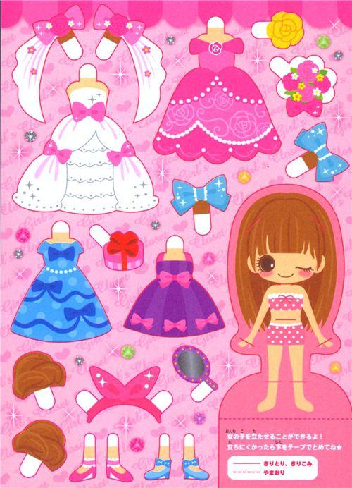 Libreta kawaii chica muñeca armario de Mind Wave - Blocs de notas ...