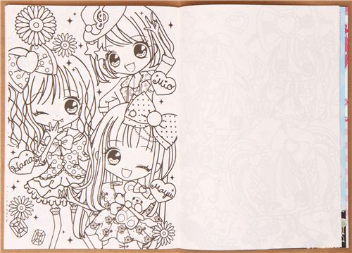 kawaii girls jewelry notebook drawing book from japan