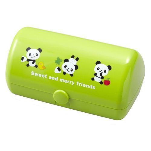 kawaii green panda bear omusubi onigiri bento box lunch box bentos bento boxes kawaii shop. Black Bedroom Furniture Sets. Home Design Ideas