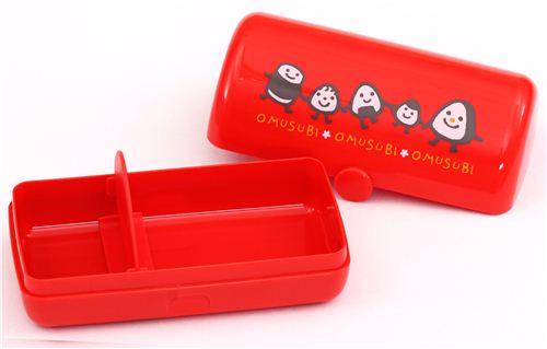 kawaii red omusubi onigiri bento box lunch box bentos bento boxes kawaii shop modes4u. Black Bedroom Furniture Sets. Home Design Ideas
